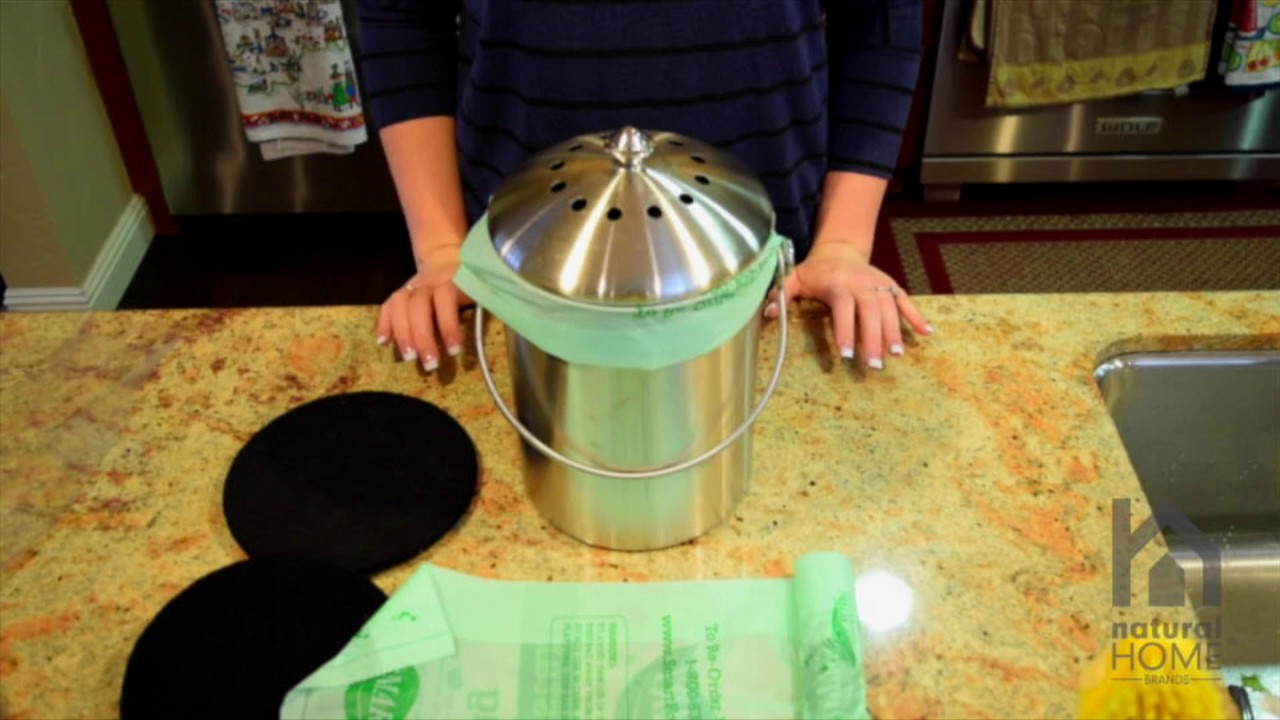 How To Use Your Stainless Steel Compost Bin