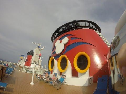 Disney Wonder Cruise (West Caribbean) April 2016 filmed with GoPro Hero3+