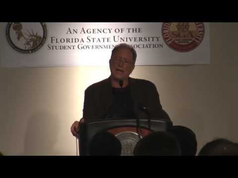 "13/14 Bill Ayers and Kathleen Kemp at Florida State University - ""The State of Education"""