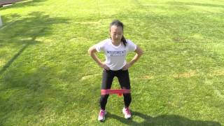 soccer acl injury prevention exercise 3 band side steps