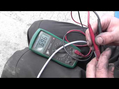 Как проверить датчик распредвала змз 406 мультиметром