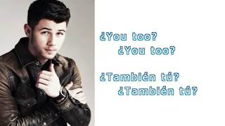 Nick Jonas - Remember i told you  ft. Anne Marie y Mike Posner (Lyrics + sub español)
