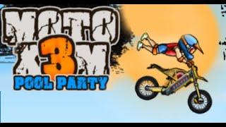 Moto X3M 5: Pool Party Full Gameplay Walkthrough