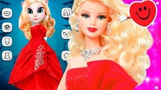 #МояГоворящаяАнжела #Барби Barbie TALKING ANGELA Кошка Анжела игровой мультик котиков #Анжела