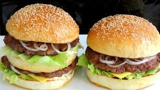 ВКУСНЫЙ БИГ МАК ГАМБУРГЕР  вкусно и просто - bánh Hamburger BigMac Hamburger Cheeseburger