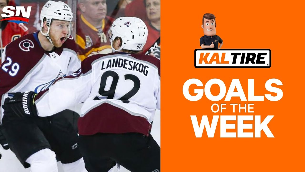 NHL Goals of The Week: MacKinnon Ends It In Overtime!