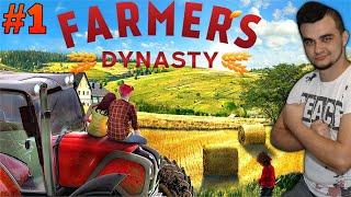 Farmer's Dynasty #1 Dostałem gospodarstwo w spadku! Pomoc sąsiadowi,pierwszy ciągnik! MafiaSolecTeam
