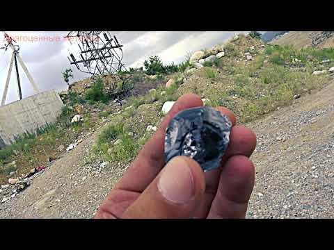 На карьере нашёл большой Алмаз и самородок