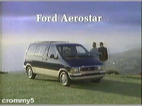 1989 ford aerostar commercial youtube