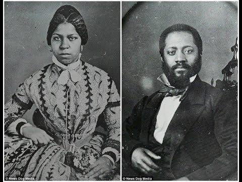 Редкие исторические фотографии чернокожих людей XIX века.