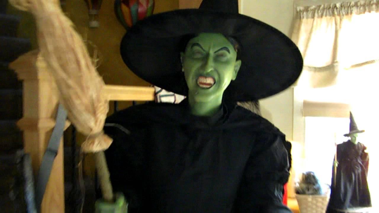 Halloween Witch Prop