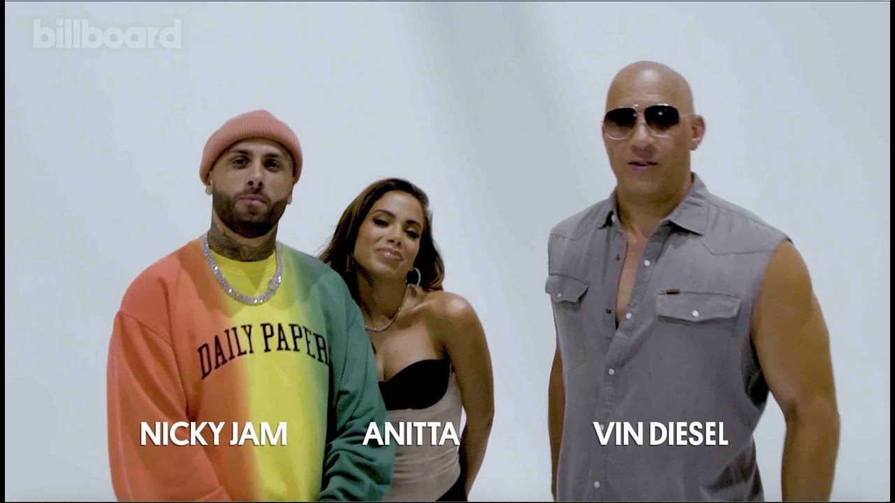 Q&A With 'Fast and Furious' Stars Vin Diesel, Anitta & Nicky Jam