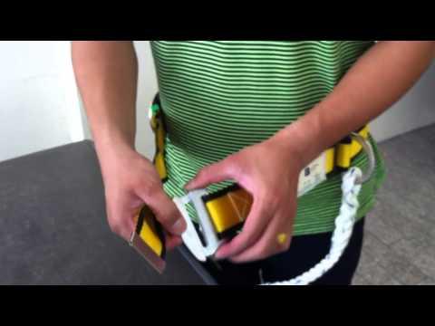 เข็มขัดกันตกครึ่งตัว BJ737 ตะขอเล็ก / Safety Belt  SA06040:B.J.Brothers and son Co.,LTD. 024511824