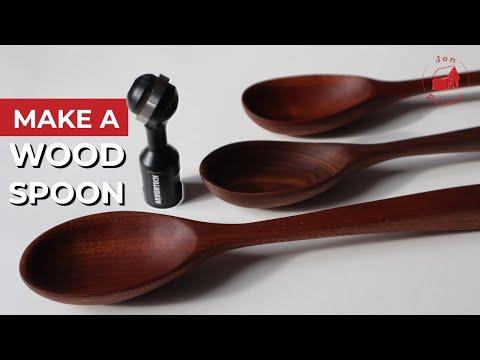 Make a Wood Spoon
