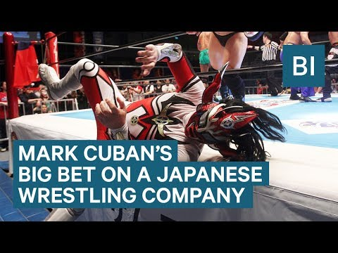 Mark Cuban Is Taking On The WWE With New Japan Pro Wrestling