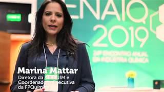 DIRETORA DA ABIQUIM MARINA MATTAR NO ENAIQ 2019