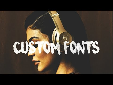 How to install Customised fonts for PicsArt free in 2 minutes | Dafont com  | Surfing Capital font |