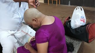 My First Head shave || Head shave woman || lifestyle simple tips