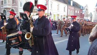 Cambrai 26/11/2017 centenaire bataille de Cambrai Royal Tank Regiment