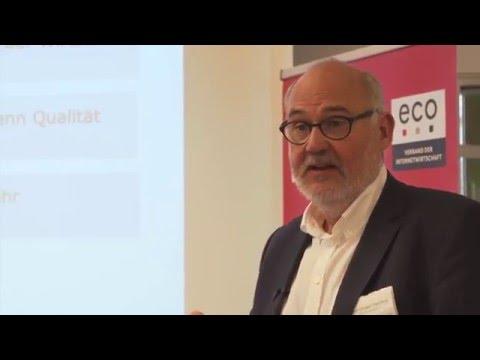"""Stefan Engel-Flechsig: """"ZUGFeRD in Deutschland und Europa"""" – eco Kompetenzgruppe E-Commerce"""