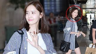 {Update} YOONA @ GIMPO AIRPORT Back to Korea after finished fanmeeting in  japan