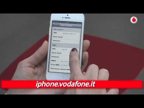 apn dati cellulare vodafone iphone 7