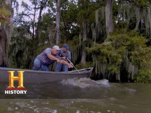 Swamp People: Troy Loses The Gator Big Boy (S5, E16) | History