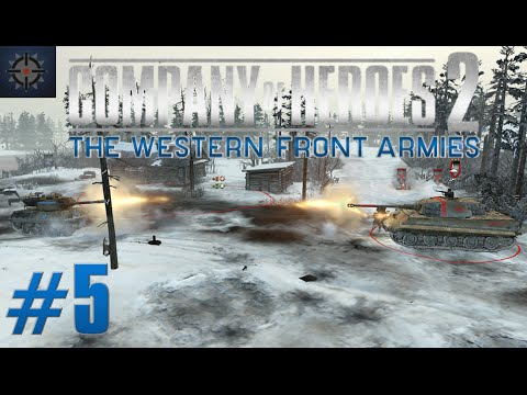 COH2 The Western Front Armies Online Commentary #5 - King Tiger's & Jagdtiger's vs Everything!