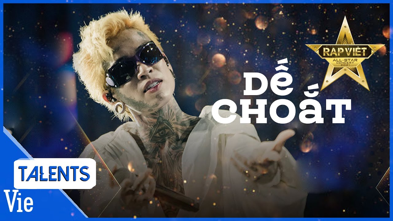 Dế Choắt phô diễn màn cưỡi beat đi flow dưới hiệu ứng sân khấu đỉnh cao của Rap Việt Concert