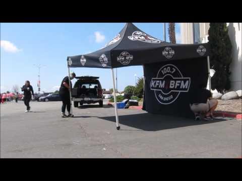 KFMBFM Roadies at Events