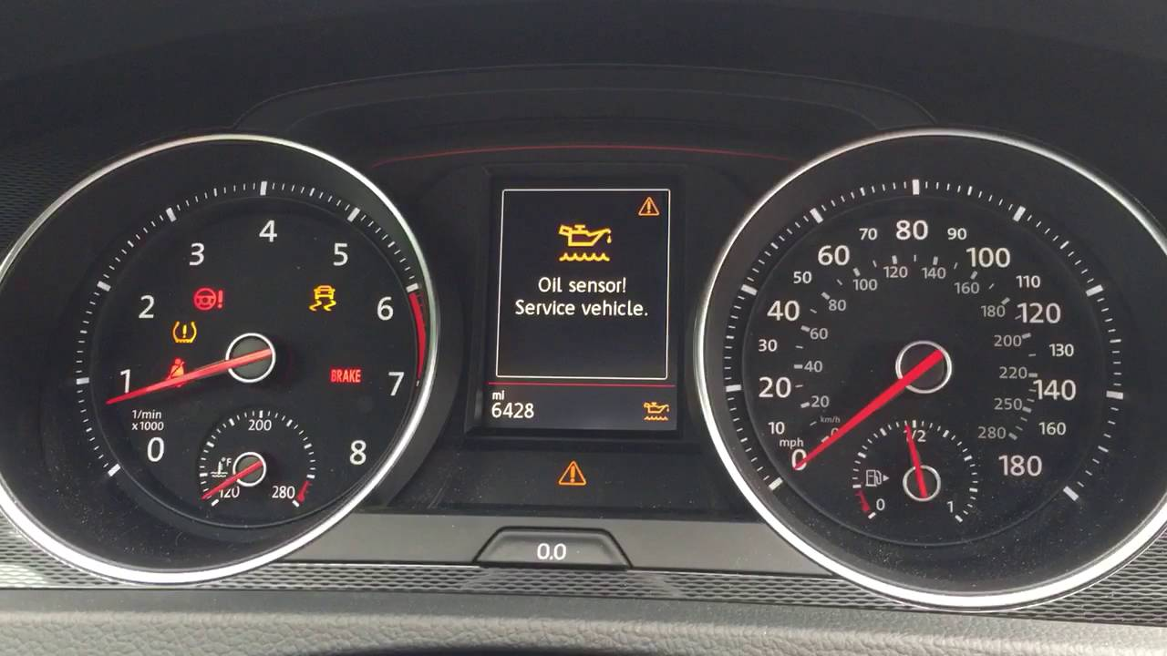 Vw gti dash warning lights youtube biocorpaavc Choice Image