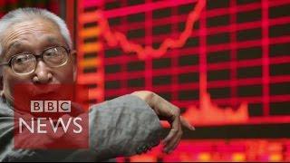 China's stock crash - in 60 seconds - BBC News