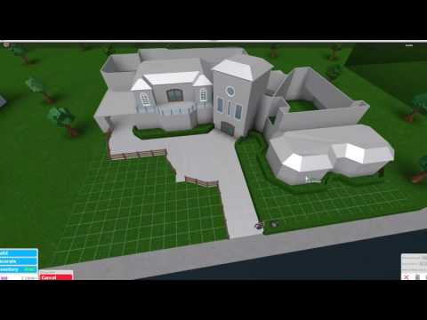 Roblox bloxburg country house build youtube for Kitchen designs bloxburg