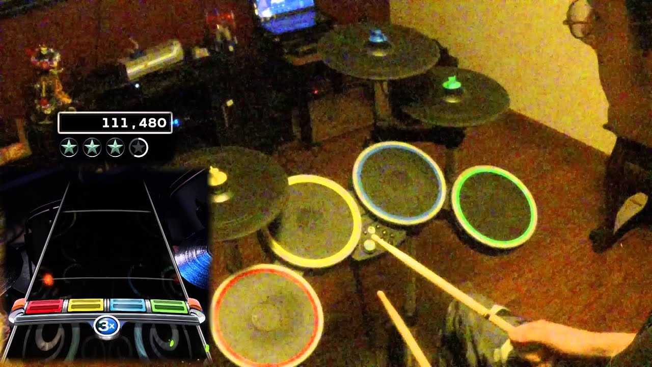 Rush Red Barchetta Rock Band 4 Expert Pro Drums 270k Youtube