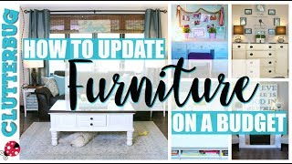Decorating Tips- How to Update Furniture on a Budget
