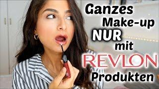 100% DROGERIE - Ganzes Make up NUR mit REVLON Produkten