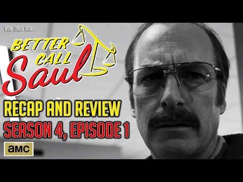 Better Call Saul - Season 4, Episode 1 - Recap & Review