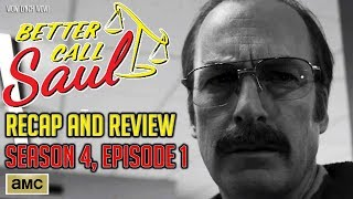 Better Call Saul - Season 4, Episode 1 - Recap & Review