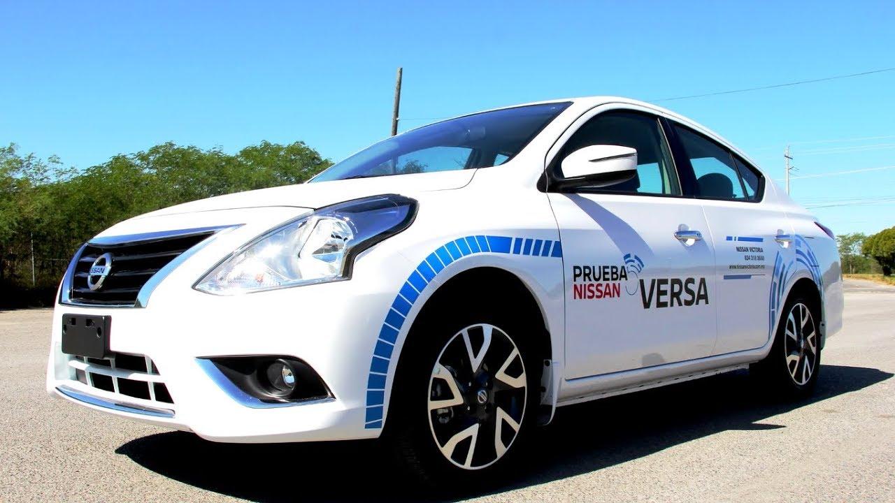 Nissan Versa 2018 a prueba - YouTube