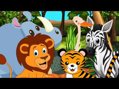 Animal Sounds Song - We're Going on a Safari!