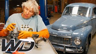 Edd Starts Work On The Engine Of A 1963 Volvo PV544 | Wheeler Dealers