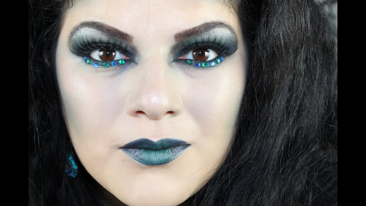 Witch Makeup Tutorial for Halloween - YouTube