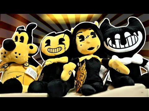"The NEW Bendy And The Ink Machine ""HEAVENLY TOYS"" Plush Set"