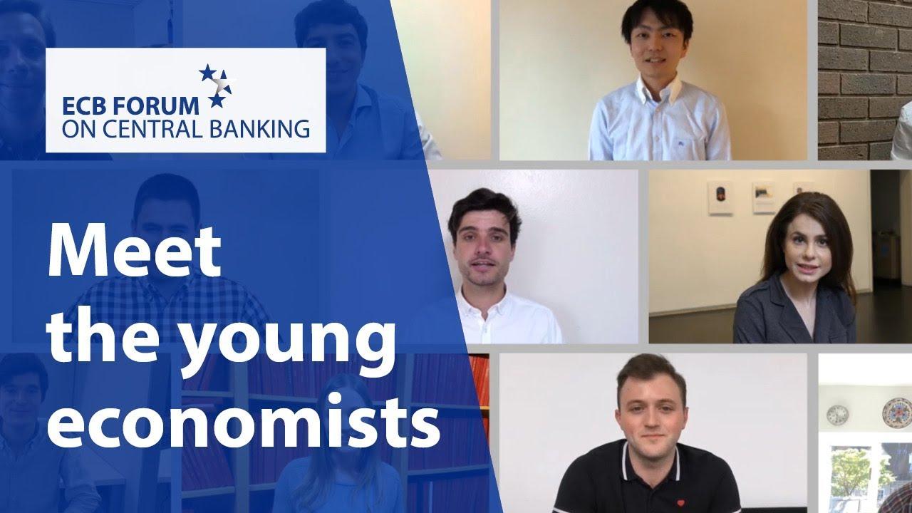 Meet the young economists of the #ECBForum