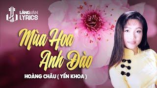 Mùa Hoa Anh Đào   Yến Khoa   Official MV   Karaoke