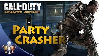 Call of Duty Advanced Warfare - Party Crasher - Trophy (Kill 20 enemies with the Grappling Hook)