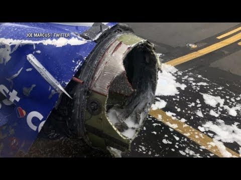 What happened when Southwest engine failed midair, forcing emergency landing