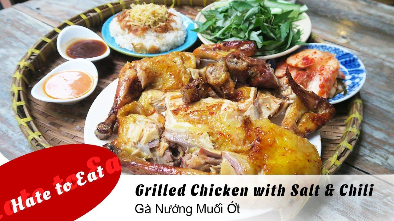 Grilled Chicken with Salt & Chili – Gà Nướng Muối Ớt