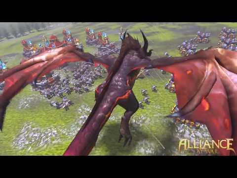 Alliance At War Cross-Server War Trialer
