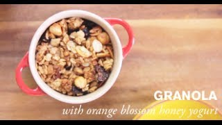 Homemade Granola W/ Orange Blossom Honey Yogurt | Farm To Table Family | Pbs Parents